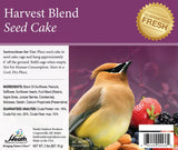 Harvest Blend Seed Cake - 2 lb - 8 pack - Heathoutdoors