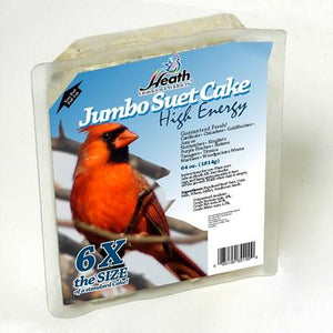 Jumbo High Energy Suet Cake - 4 lb - Pack of 4 - Heathoutdoors