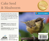 Mealworm Seed Cake with Corn - 2 lb - 8 pack - Heathoutdoors