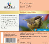 Mealworm Seed Cake with Corn - 7 oz - Pack of 12 - Heathoutdoors