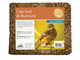Mealworm Seed Cake with Sunflower Chips - 2 lb - 8 pack - Heathoutdoors