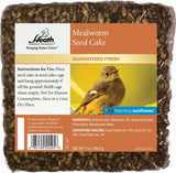 Mealworm Seed Cake with Sunflower Chips - 7 oz - Pack of 12 - Heathoutdoors