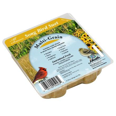Multi-Grain Suet Cake - 9.25 oz - Pack of 16 - Heathoutdoors