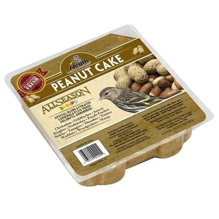 Peanut Cake Suet Cake - 11 oz - 12 pack - Heathoutdoors