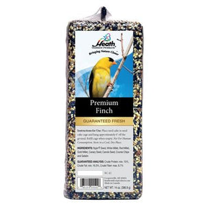 Premium Finch Seed Cake - 14 oz Bar - 6 pack - Heathoutdoors