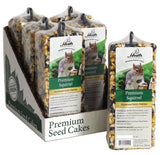Premium Squirrel Seed Cake - 14 oz Bar - Pack of 6 - Heathoutdoors