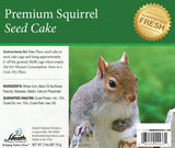 Premium Squirrel Seed Cake - 2 lb - 8 pack - Heathoutdoors