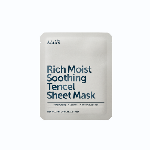 Rich Moist Soothing Tencel Sheet Mask