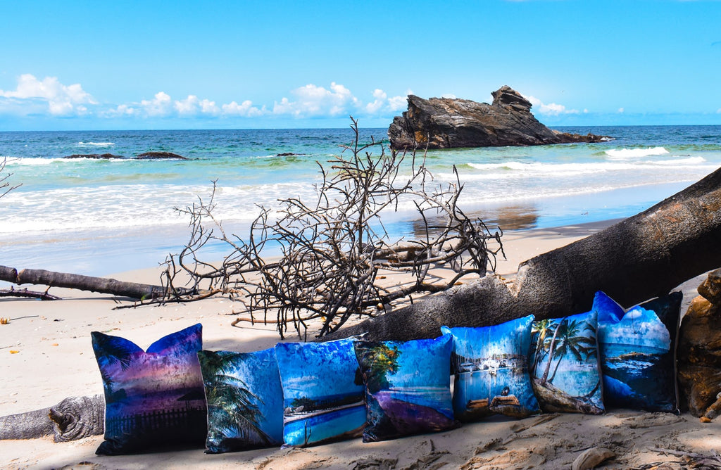 Throw Pillows and Wall Art