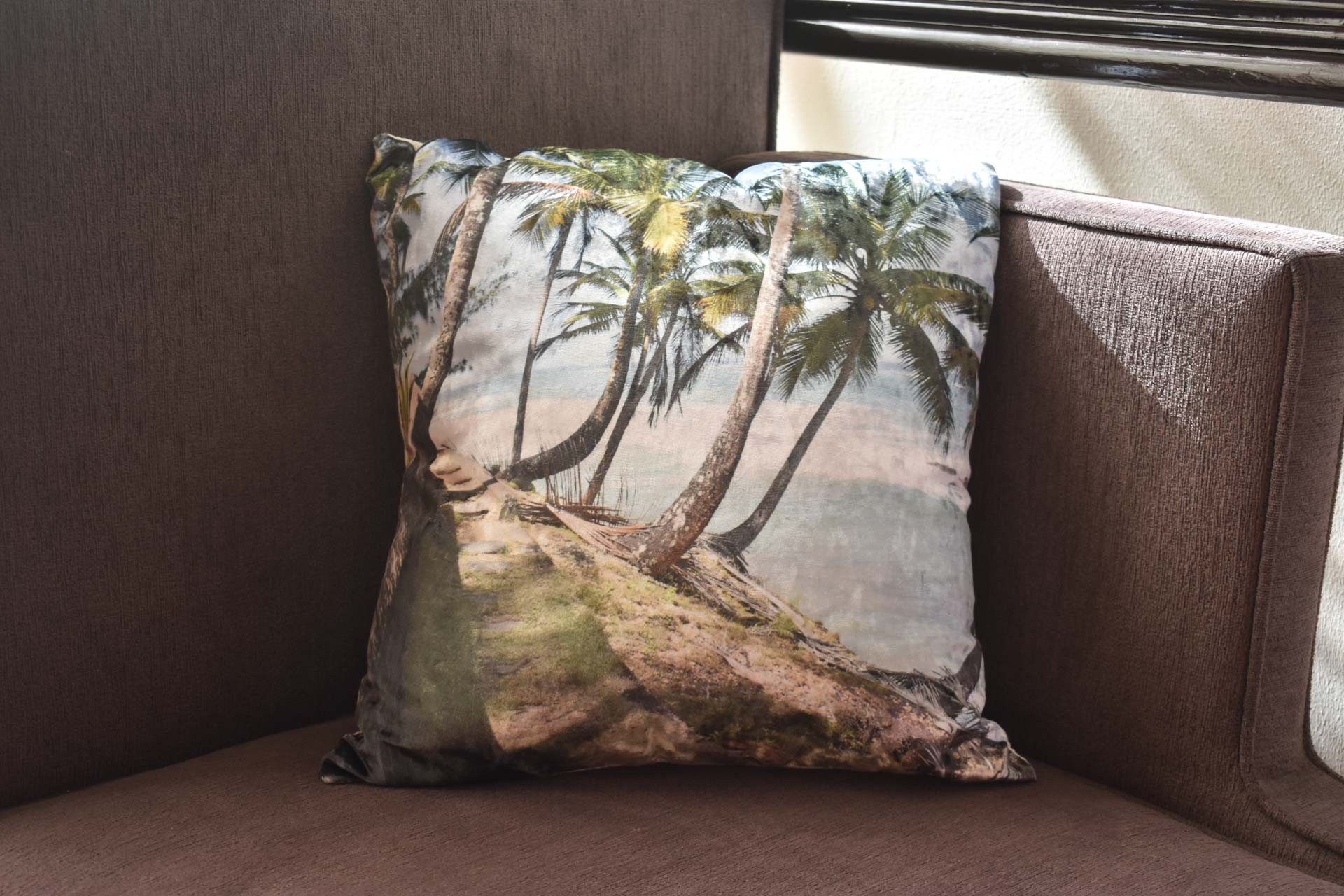 Yarra Coast Throw Pillow Cover