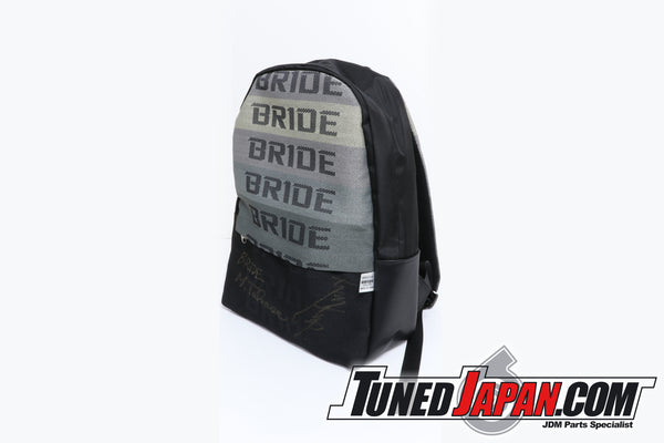 OFFICIAL BRIDE BACKPACK - AUTOGRAPHED BY TSUCHIYA KEIICHI - DRIFT KING HIMSELF