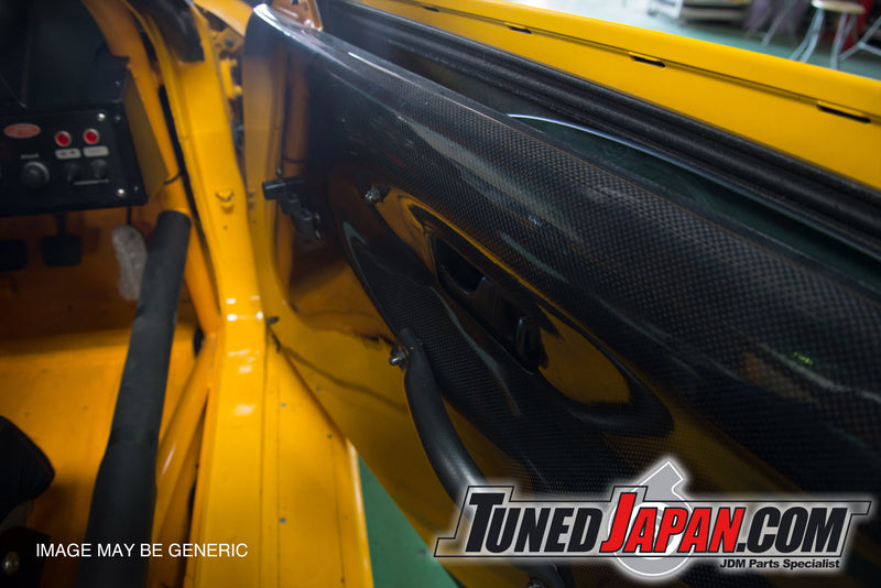 BEE-R CARBON INNER DOOR PANEL - R33 SKYLINE - 2 Door
