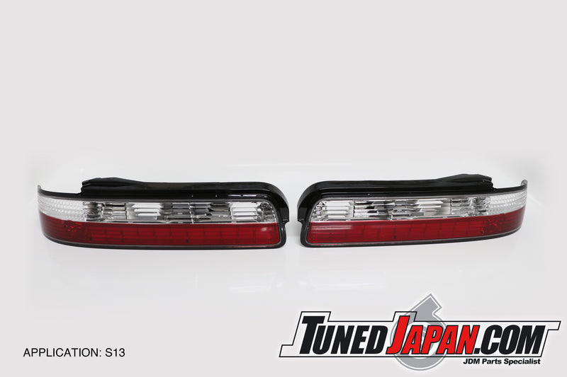 D-MAX | CRYSTAL LED REAR TAIL LIGHT SET | PS13・S13