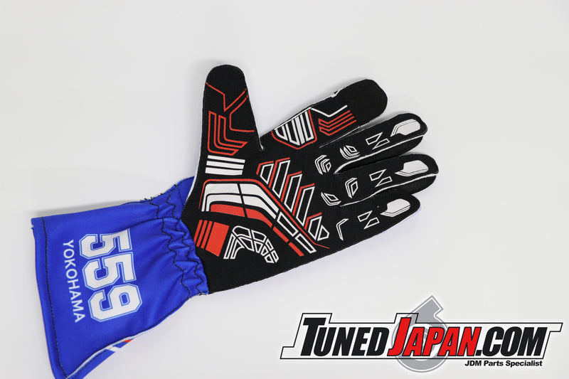 TUNED JAPAN | RIDOX | MAX ORIDO RACING GLOVES | BLUE | EXTRA LARGE