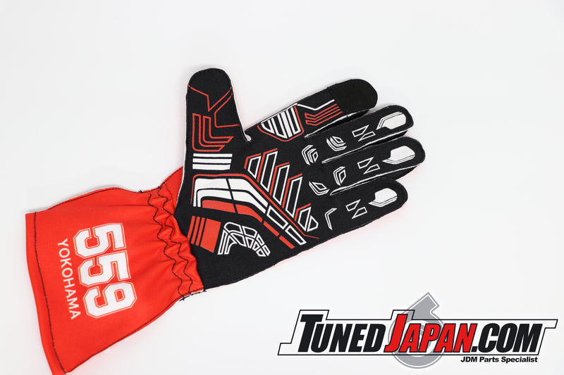 TUNED JAPAN | RIDOX | MAX ORIDO RACING GLOVES | RED | SMALL