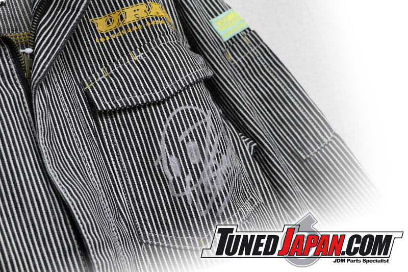 URAS COVERALLS - STRIPED