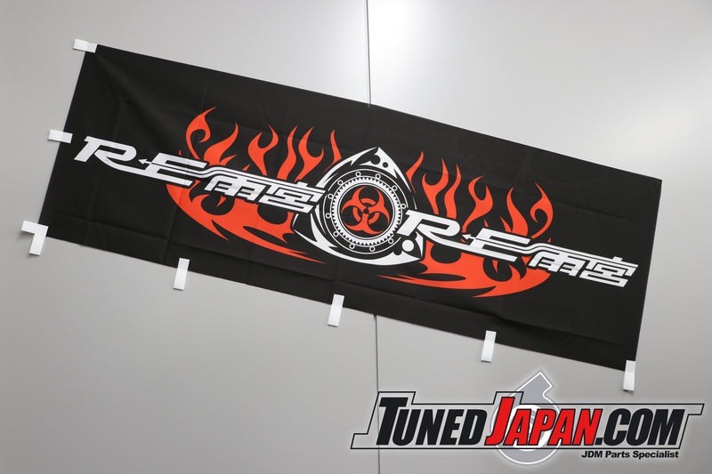 Re-Amemiya Garage Banner - Black