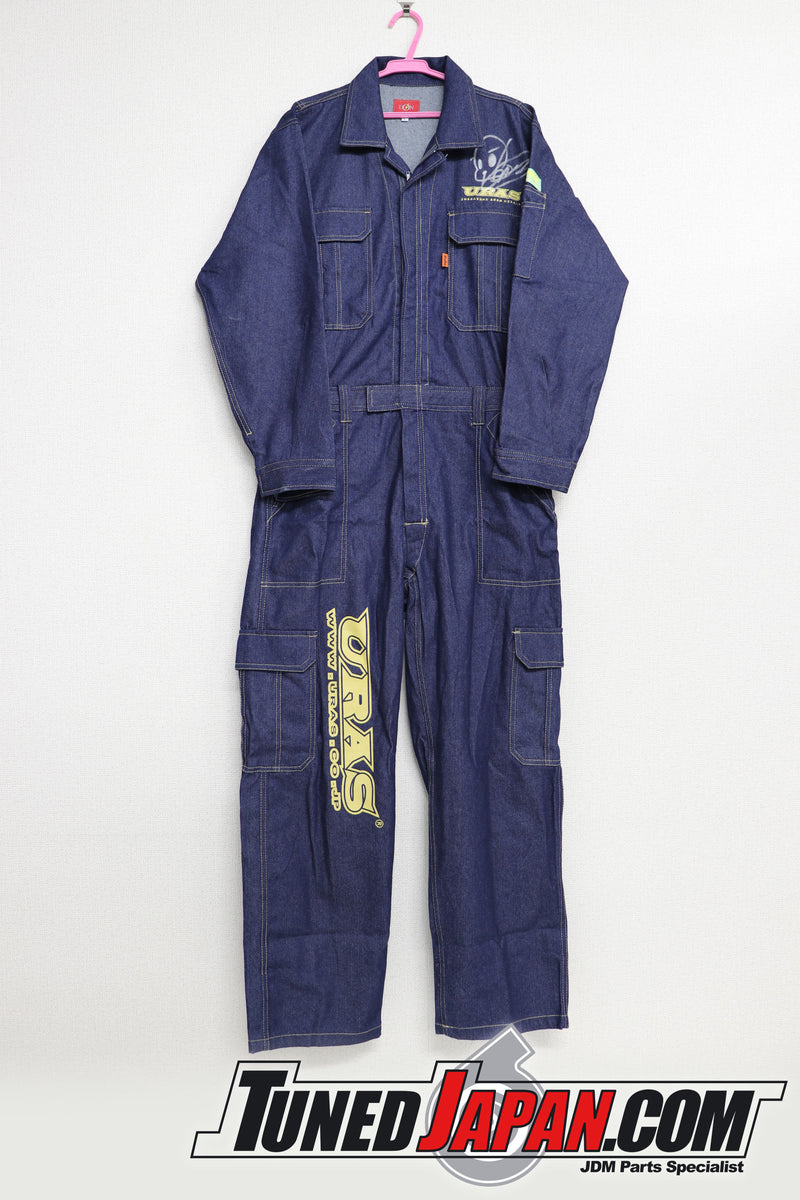 URAS | COVERALLS | DENIM | LARGE