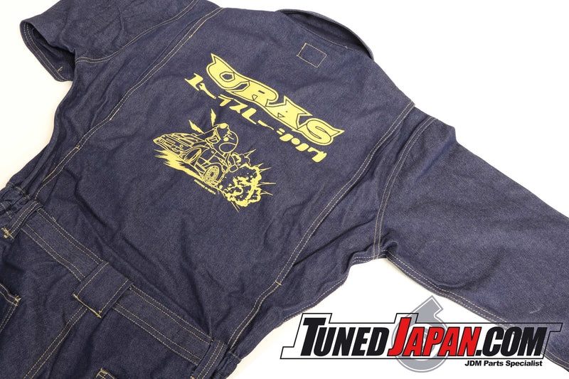 URAS COVERALLS - DENIM