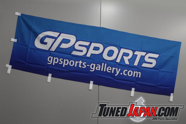 GP Sports Garage Banner - Blue
