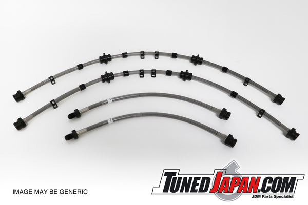 TUNED JAPAN STAINLESS STEEL BRAKE LINES - S14 SILVIA
