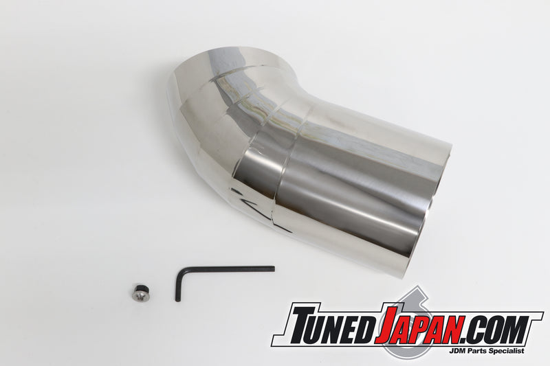 URAS D1 REGULATION MUFFLER TAIL ADAPTER TIP - SLANT TAIL