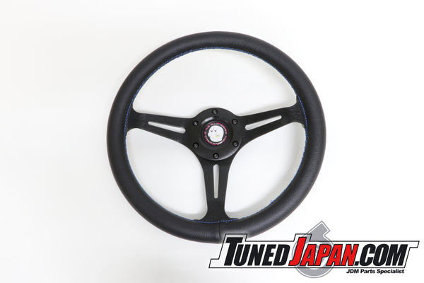 G-Corporation 330mm Obake Steering Wheel - 330mm - Flat Type