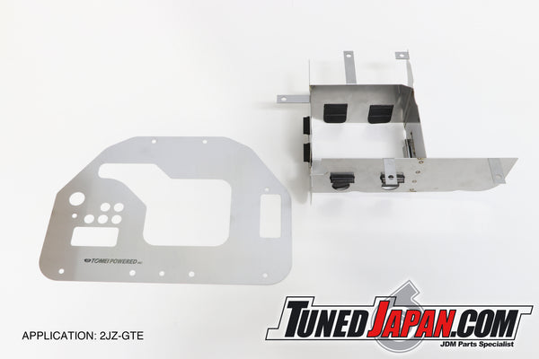 TOMEI | 2JZ-GTE TYPE F2 ENGINE OIL PAN BAFFLE | JZS147-JZX100-JZX90