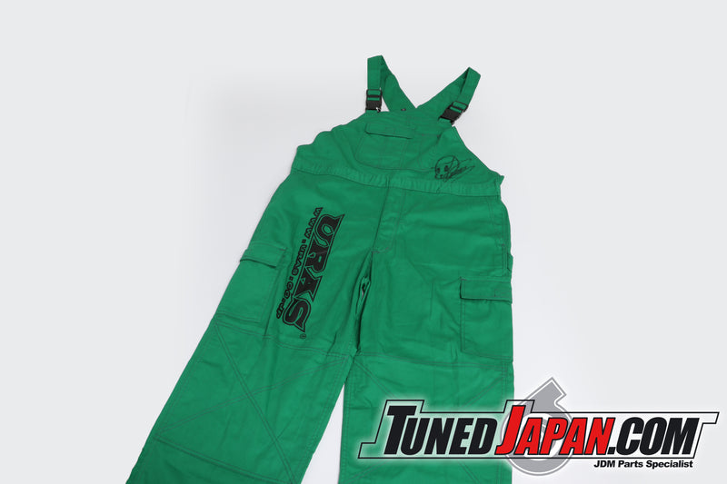 URAS | OVERALLS | GREEN | XTRA LARGE