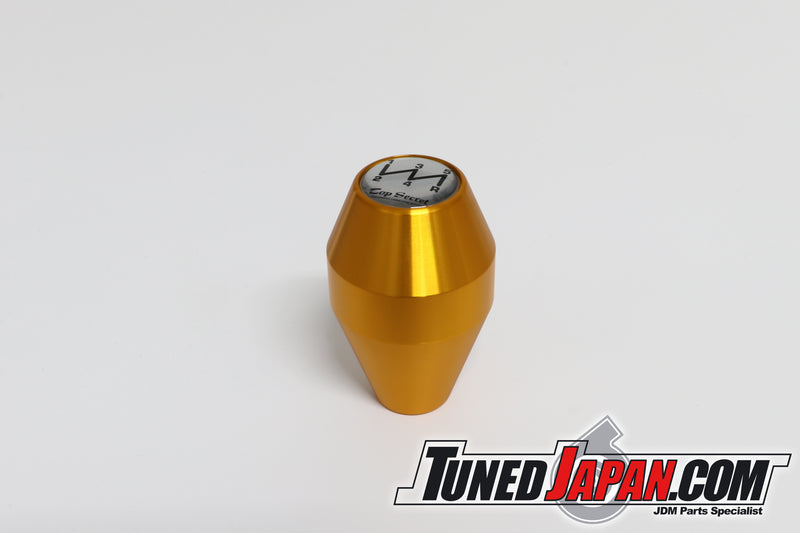 TOP SECRET SHIFT KNOB 6MT GOLD - M10 X 1.25 - Long