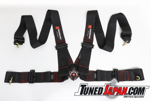 HPI 4 Point Seat Belt Harness - Black - Left