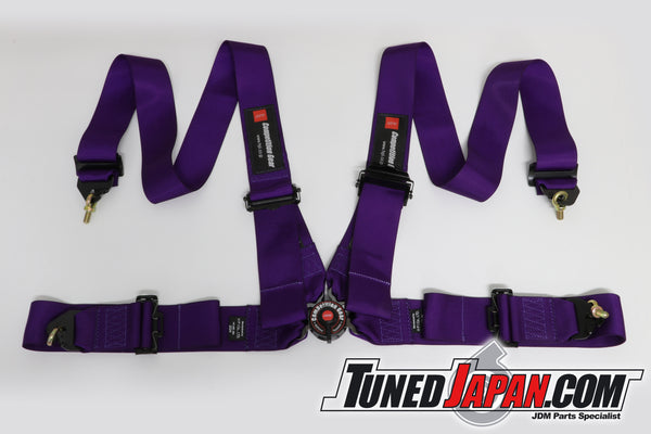 HPI 4 Point Seat Harness - Purple - Left