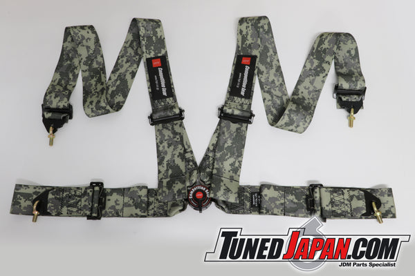 HPI 4 Point Seat Belt Harness - Desert Camouflage - Left