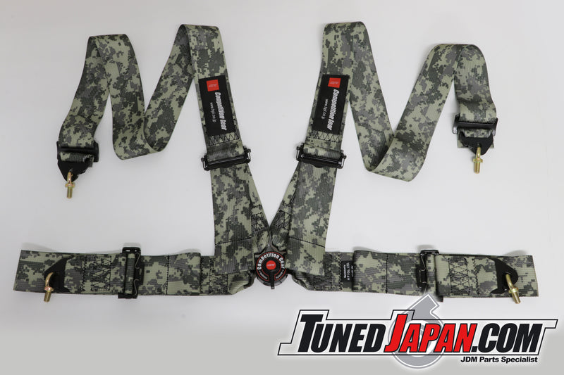 HPI 4 Point Seat Belt Harness - Desert Camouflage - Right