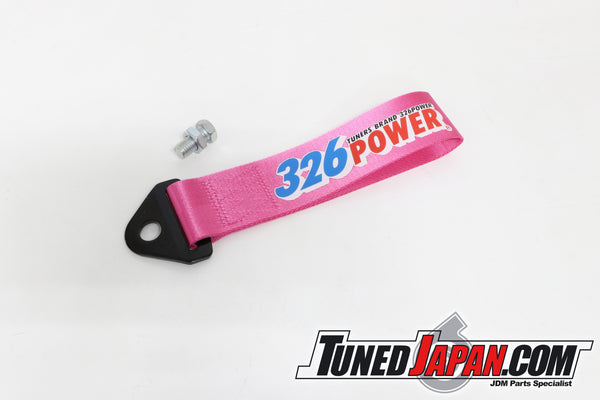 326 POWER | CHARA DECORATIVE TOW STRAP | PINK