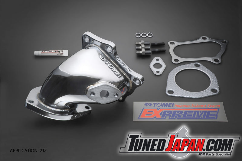 TOMEI EXPREME TURBO OUTLET PIPE - JZX100 JZX110 JZX110W JZZ30 JZS171 JZS171W