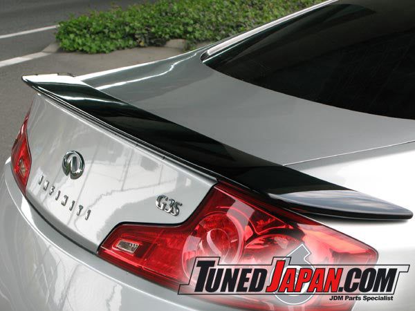 URAS TYPE GT TRUNK SPOILER GT V35 TS FRP - SKYLINE 2 DOOR