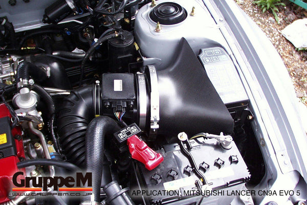 TUNED JAPAN | AUTHORIZED DEALER | MITSUBISHI | EVO 5 | 1998 | 2.0 LITER | RAM AIR SYSTEM | FR-0055