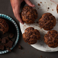 Wholesale gluten free dairy free nut free chocolate muffins for foodservice