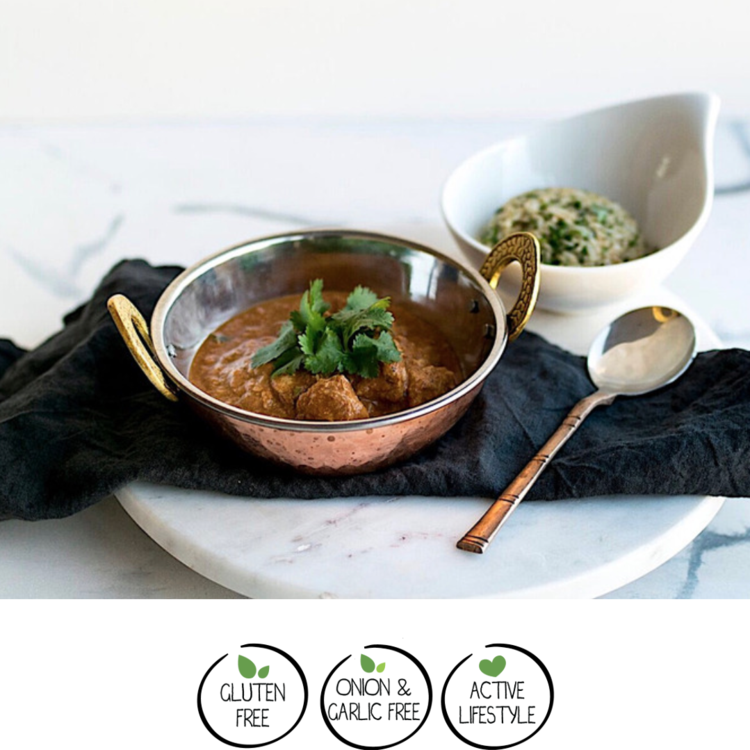 Fragrant Chicken Curry w/ Coriander Brown Rice 400g