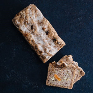 Wholesale gluten free allergen free nut free dairy free vegan fruit loaf for foodservice