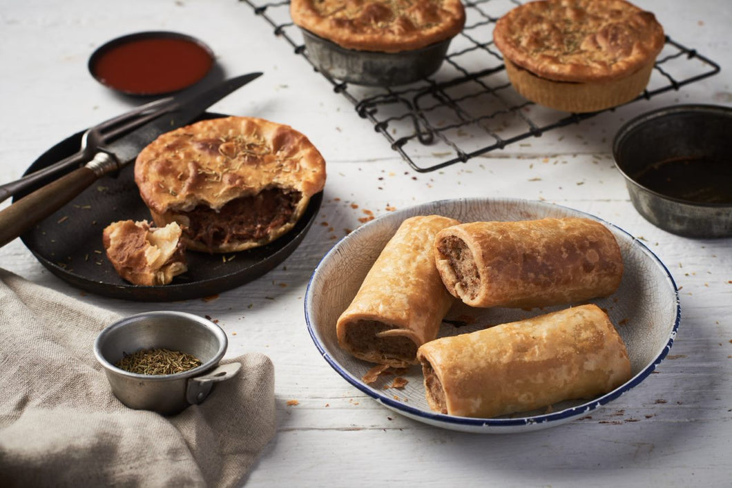 Wholesale gluten free meat pies for foodservice