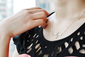 Heart Beat Simple Necklaces