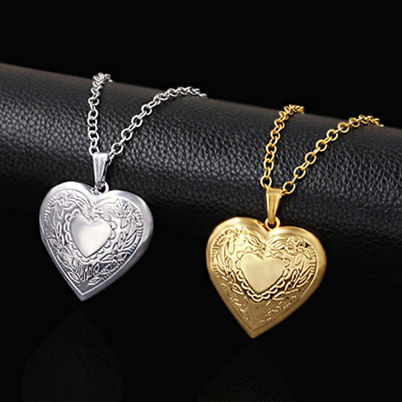Heart Locket Pendants Necklaces