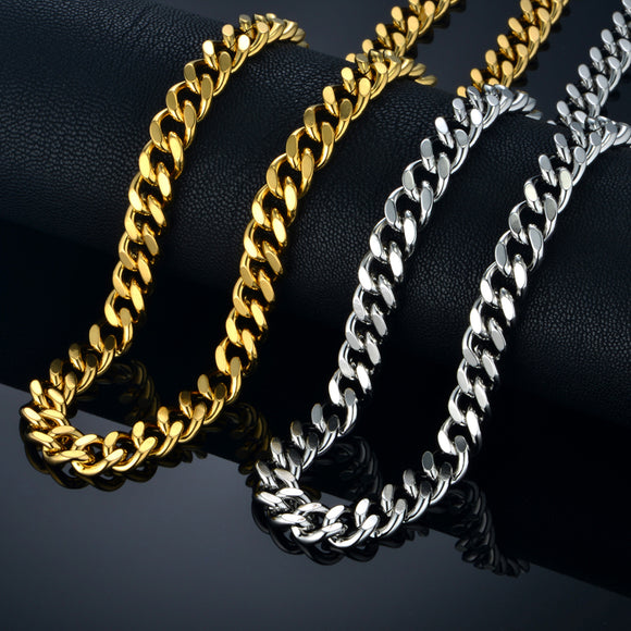 Thick Silver Chain Mens