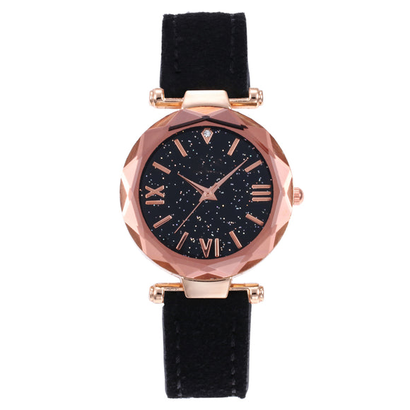 Luxury Women Watches New Ladies Leather