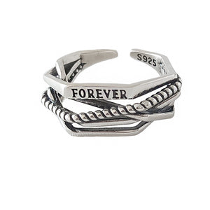 Forever Silver Ring Set