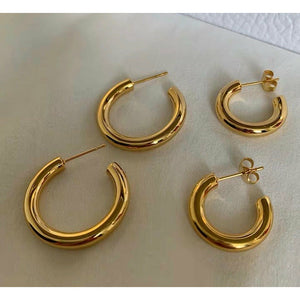 Basic Hoops Earrings