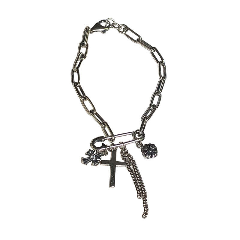 Cross Punk Bracelet