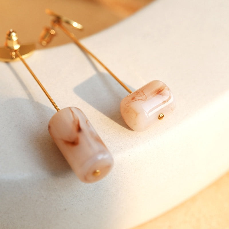 Limited Edition Resin Drop Earrings